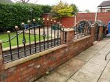 Ref:RA031 Gates & Railings In Bramhall