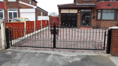 Ref:GTO 63 Driveway Gates In Manchester