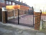 Ref: GT013 Home Driveway Gates Salford, Manchester