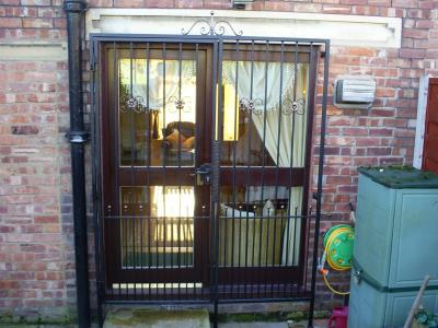 Ref: SE004 Wrought Iron Security Gates
