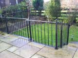 Ref: RA004 Steel Fencing, Railings Diggle Saddleworth, Lancashire - Ideal for Gardens and Patios