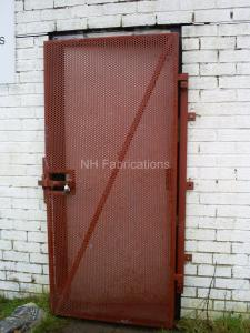 Ref: CO007 High Security Steel Doors