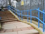 Ref: CO002 Secure Handrails for all Doorsteps - Garden Steps, Paths and Ramps