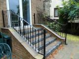 Ref:RA030 Metal Handrail in Rochdale,Manchester