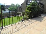 Ref:  RA027 Contemporary Railings Delph Oldham