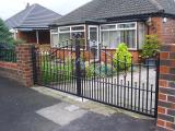 Ref: GT022 Wrought Iron Gates Failsworth, Manchester