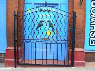Ref: BP004 Steel Security Doors for Business Premises