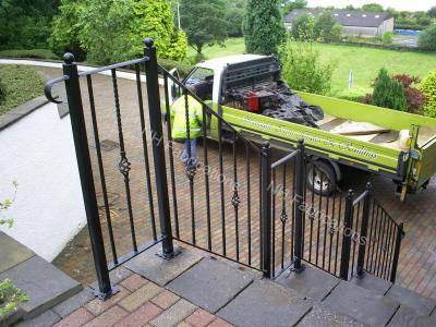 Ref: RA007 Hand Rails - from Wrought Iron up to Ornamental Balustrade