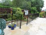 Ref:RA033 Patio Railings in Rochdale,Manchester