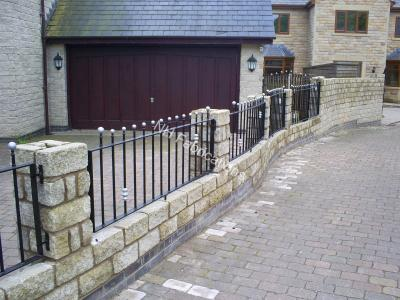 Ref: RA018 Railings Ramsbottom