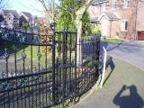 Ref: RA006 Ornamental Steel Gates and Railings in Manchester
