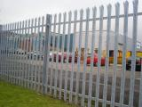Ref: CO001 Steel Palisade Galvenised Fencing