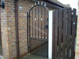 Ref: GT007 Custom Metal Side Gate with Security Lock in Chadderton, Manchester, Lancashire