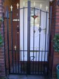 Ref: SE003 Wrought Iron Domestic Security Gates