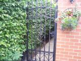 Ref: GT016 Wrought Iron Metal Side Gate, Gardon Gates, Manchester