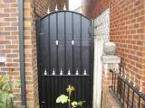 Ref: SE001 Steel Gates for Privacy