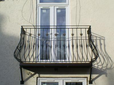 Ref: BA010 Steel Balconies Stockport, Manchester