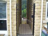 Ref: GT020 Tall Metal Security Side Gate Todmerden, Bacup, Lancashire